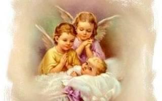 Поздравление с крестинами девочки от крестного отца