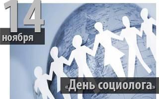 Поздравления на День социолога в прозе
