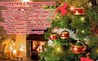 Поздравление с Новым годом бывшим коллегам в стихах и прозе