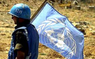 День миротворцев ООН 2020 — 29 мая