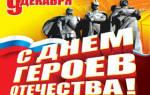 День Героев Отечества в России — смс поздравления
