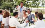 Как оригинально поздравить молодых на свадьбе