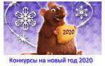 Новогодние игры и конкурсы в год Крысы 2020