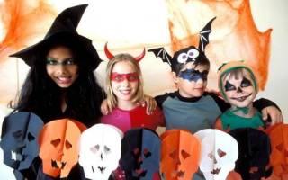 Игры и конкурсы на Хэллоуин для детей