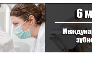 Международный день зубного врача 2020