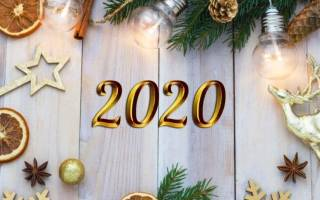 Поздравление с Новым годом 2020 организациям