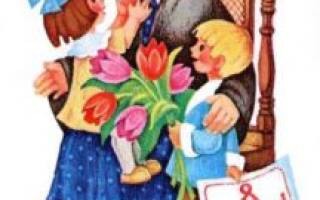 Детские стихи на 8 Марта про бабушку