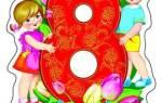 Детские стихи на 8 Марта ребенку 4-5 лет