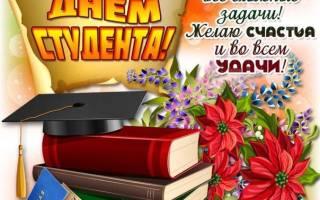 Международный день студентов — стихи, проза, смс