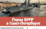 День Военно-Морского Флота 2020
