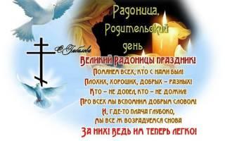 Поздравления на Радоница (Радуница) в прозе
