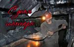 Поздравления на День шахтера 2020 в прозе