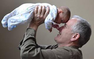 Поздравление с рождением внука бабушке и дедушке