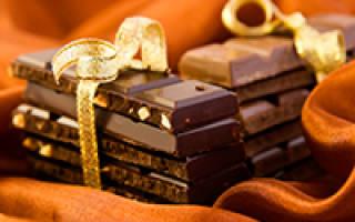 Красивые пожелания к подарку шоколад
