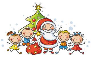 Веселые стихи на Новый год для детей 5-6 лет